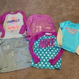 Girl bike long sleeve shirt bundle/lot